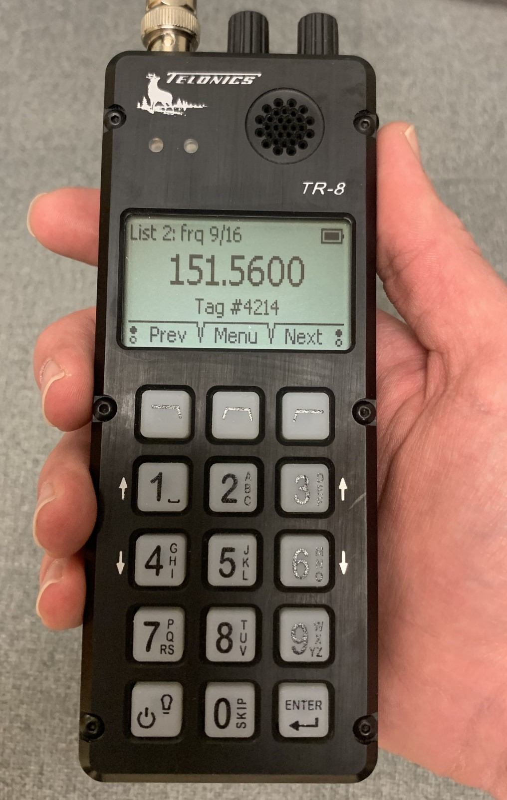 Telonics TR-8 Receiver (R-1000 replacement)