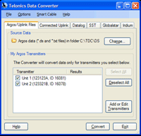 TDC-Argos/All Telonics Data Converter
